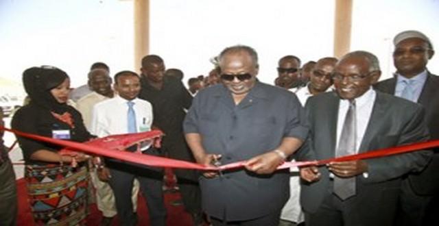 Ali-Sabieh – Le président Guelleh inaugure un centre hospitalier de référence