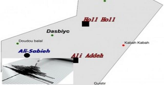 Légères secousses sismiques à Ali-Sabieh